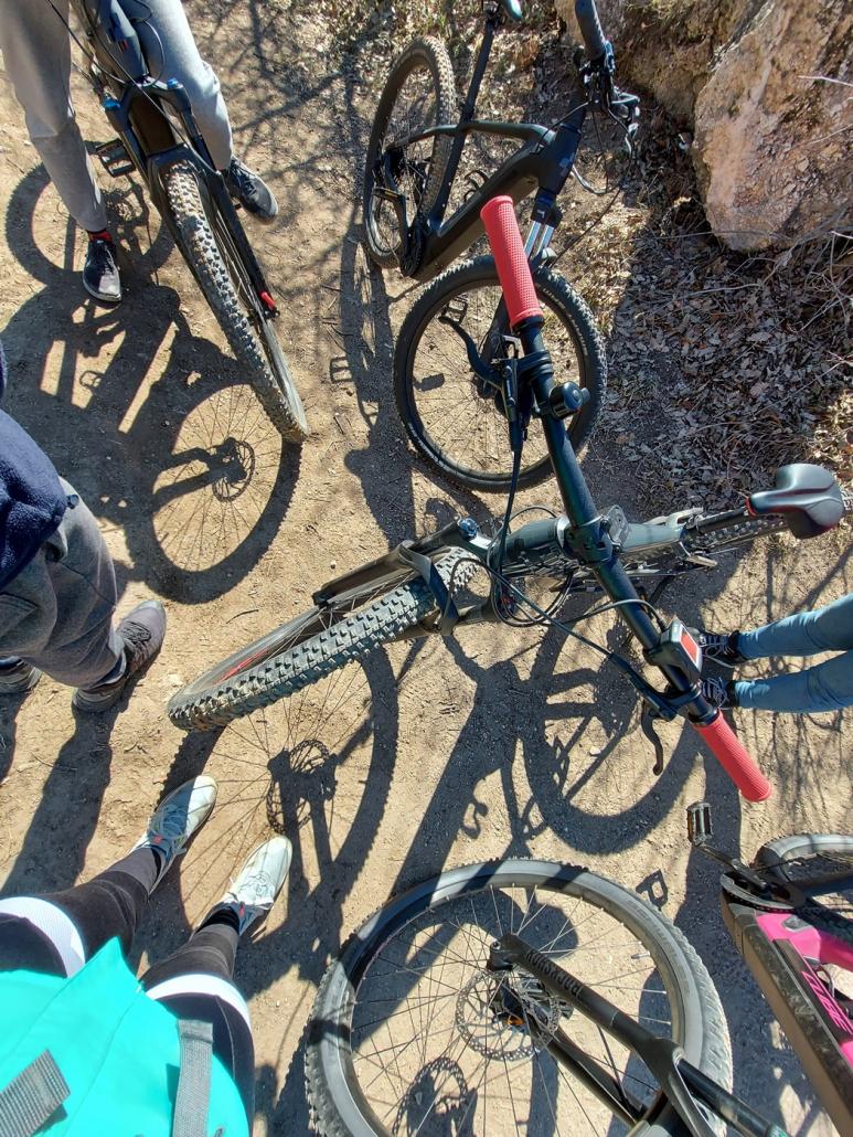 E-bike csapatépítő
