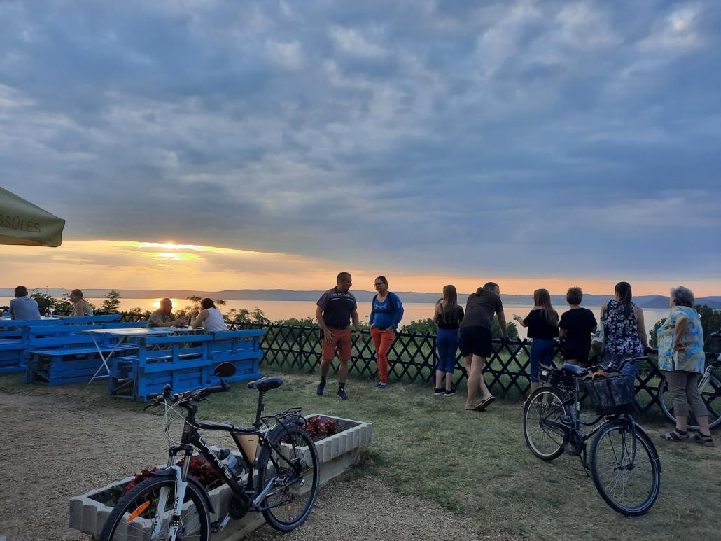 Balatonföldvár panoráma e bike